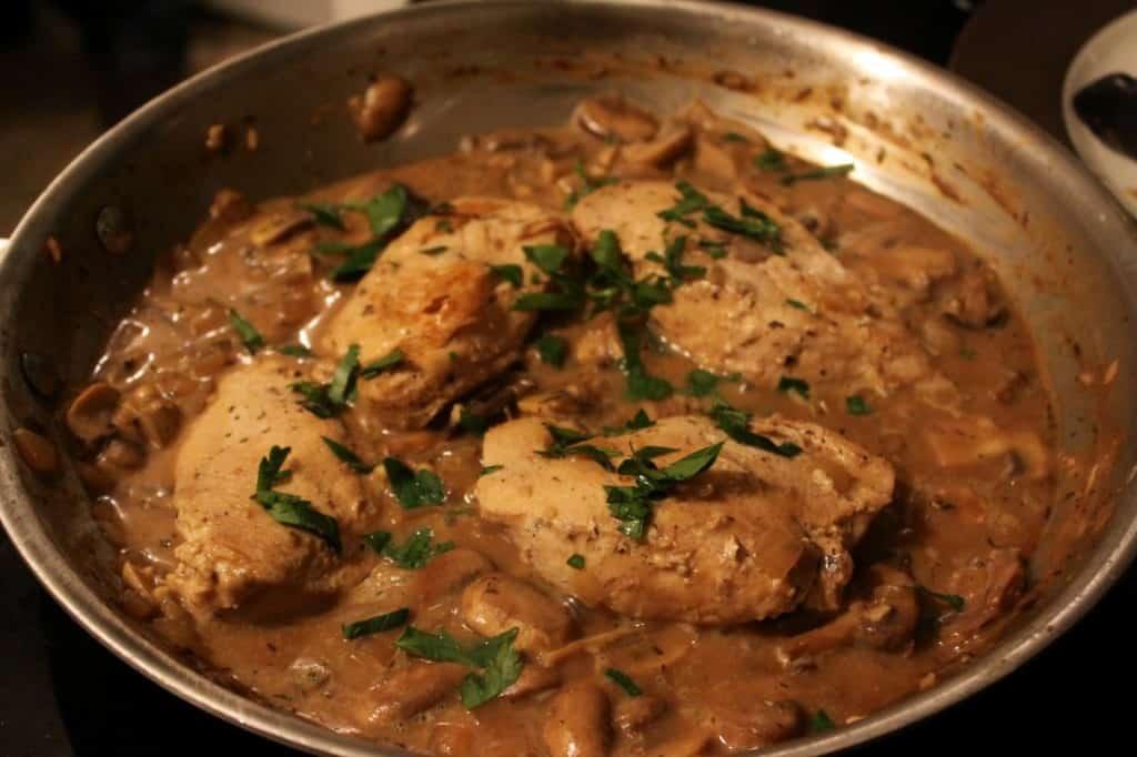 Creamy Mushroom Dijon Chicken