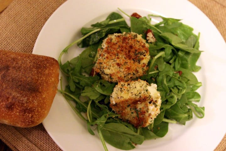 Herbed Goat Cheese Rounds