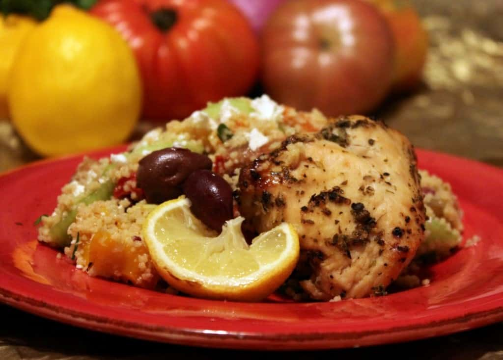 greek chicken hero