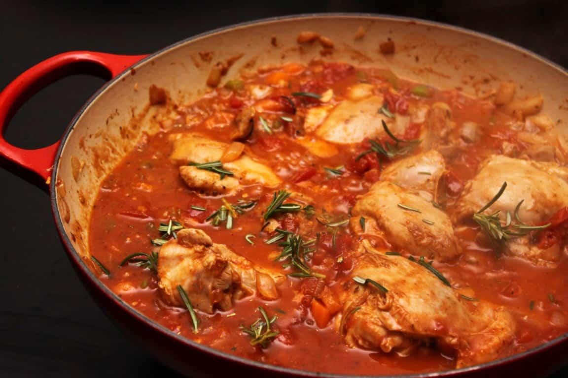 Pollo in Potacchio - Home Sweet Jones