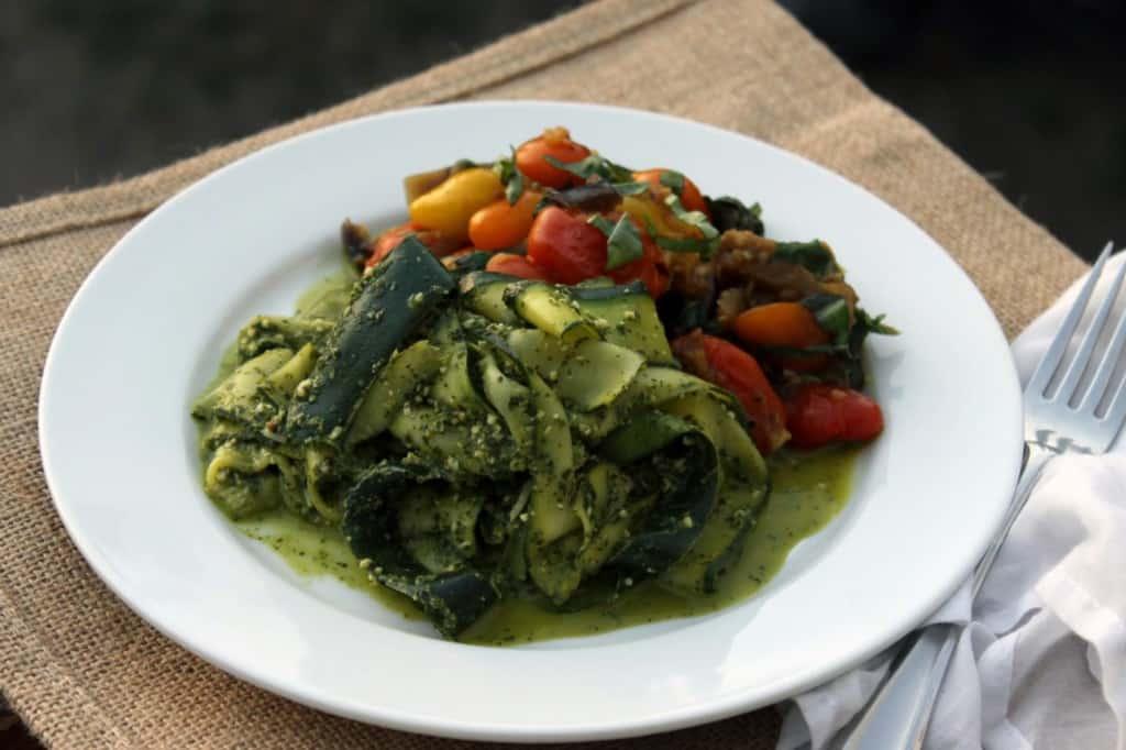 Zucchini Pesto Alla Norma