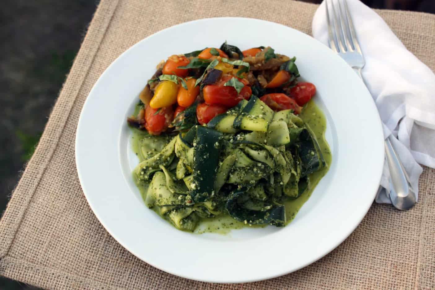 Pesto Zucchini Alla Norma