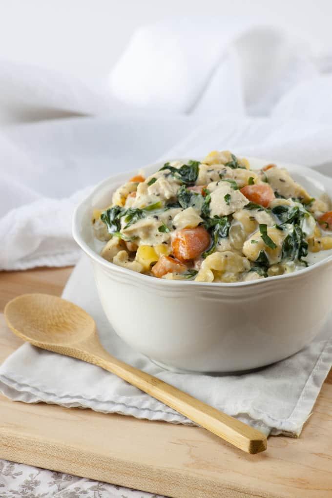 Gluten-Free Chicken Gnocchi Soup vertical