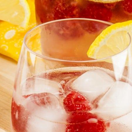 Sparkling Raspberry Lemonade Sangria
