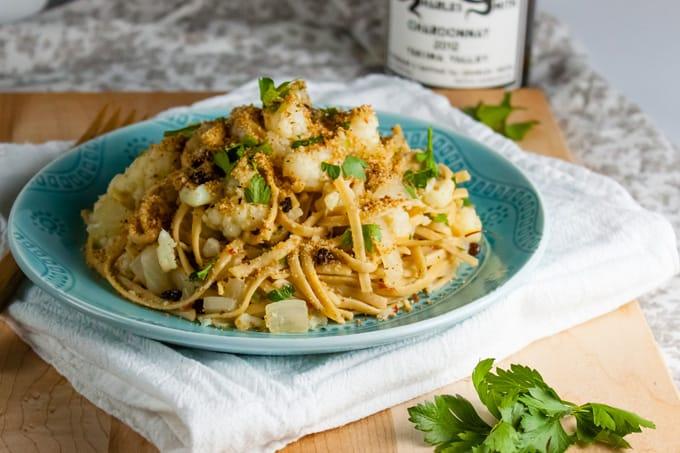 Pasta con Cavafiore: Sicilian Cauliflower Pasta