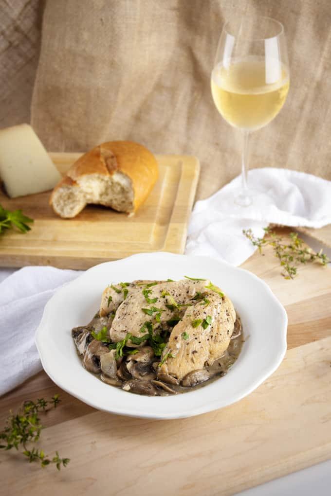 Mushroom Dijon Chicken