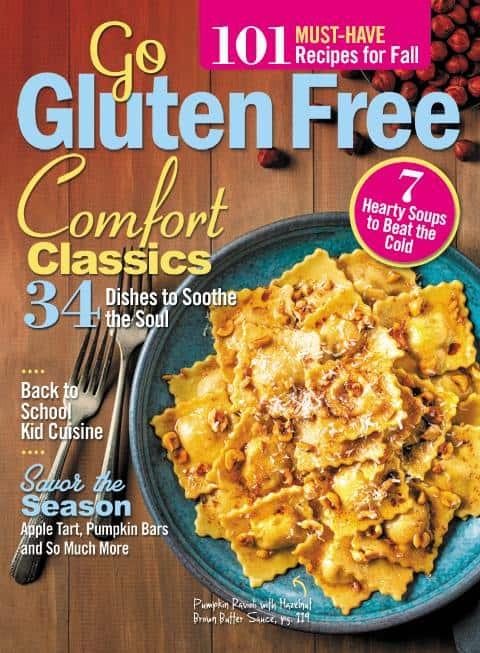 Go Gluten Free Magazine Fall Cover