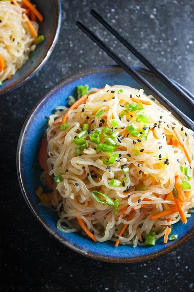Shirataki Sesame Noodles