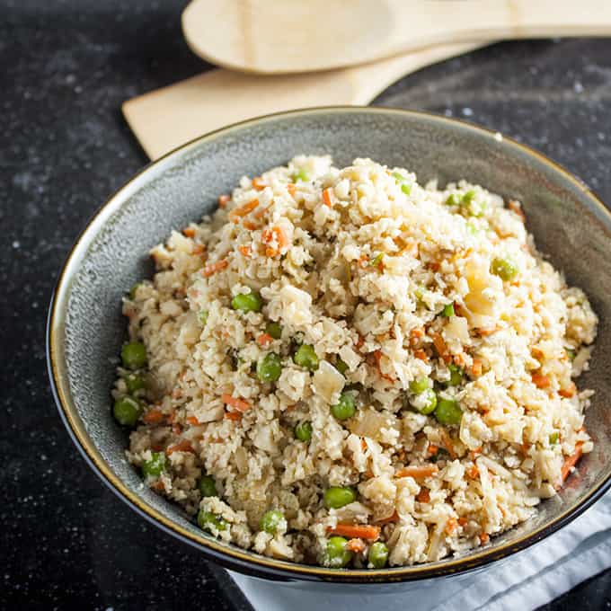 Low Calorie Califlower Fried Rice