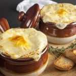 This low calorie French Onion Soup is easy to make