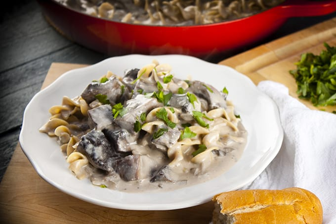Portabella Mushroom Stroganoff Recipe