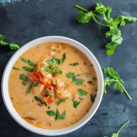 Fast, Easy Moqueca de Camaroes, aka Brazilian Shrimp Stew