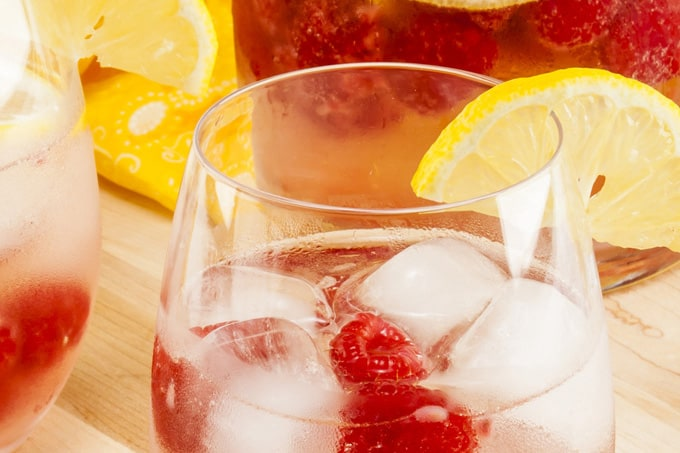 Raspberry Lemon Sangria