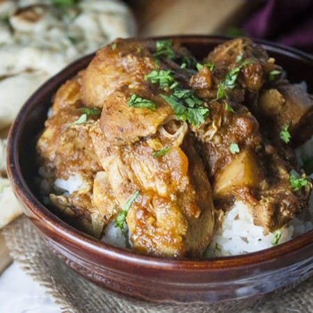 Slow Cooker Indian Chicken Curry