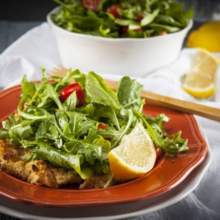 Light and Easy Chicken Milanese